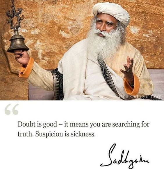 What #Sadhguru means to you?! 🧐