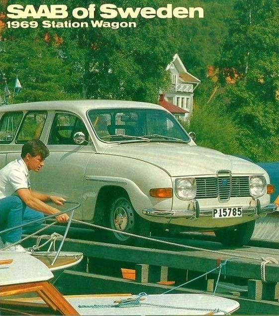 Saab 95 Station Wagon Saab Saab Turbo Saab Automobile