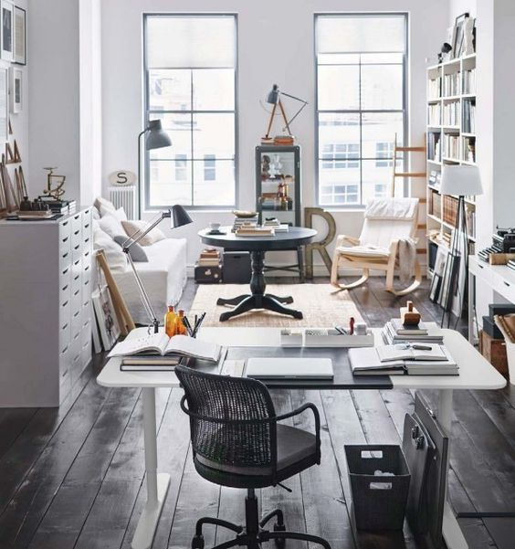 an ikea office is a happy office with plenty of storage pull up anew office ikea storage