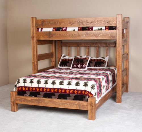 Lodge Barnwood Twin Xl Loft Bed In 2020 With Images Adult Loft Bed Loft Bed Diy Bunk Bed