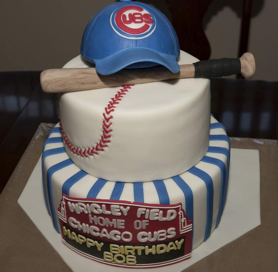 Chicago Cubs Birthday Cakes - Google Search
