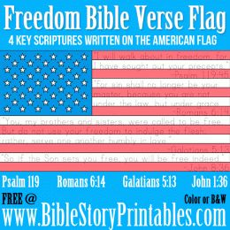 bible quotes 4th of july