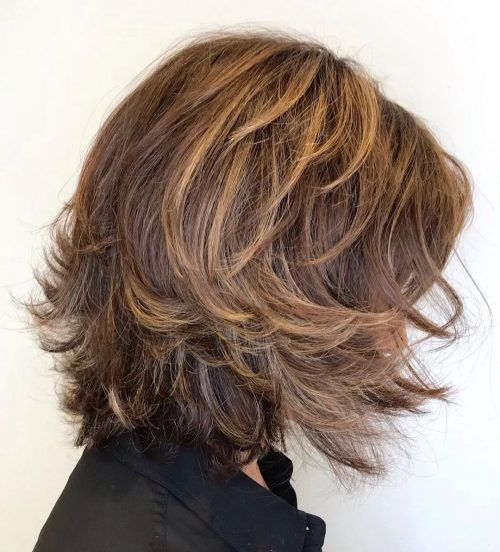 15 Youthful Medium Length Hairstyles For Women Over 50 In 2020 With Images Medium Length Hair Styles Medium Length Hair With Layers Thick Hair Styles