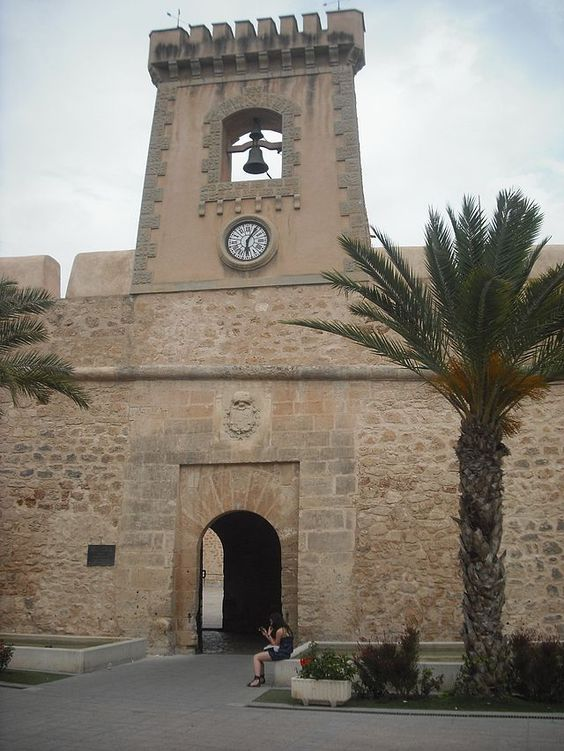 Santa Pola. Castillo. Alicante
