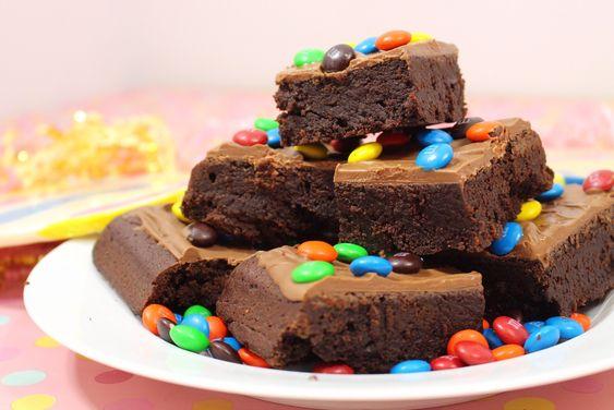 Recette du brownie ultra fondant aux M&M's