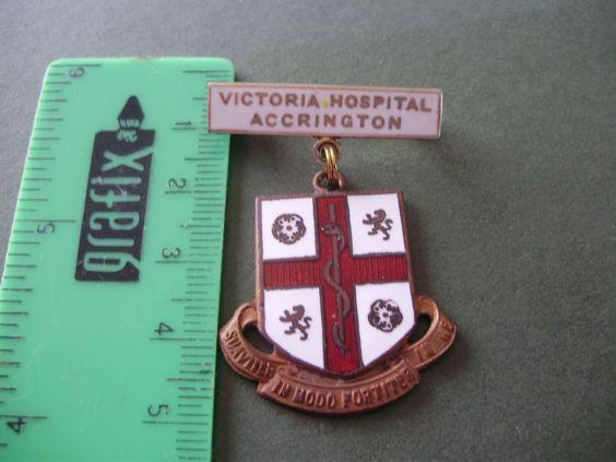 Victoria+Hospital+Accrington+nurse/nursing+badge