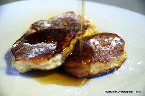 Pancake aux pommes râpées