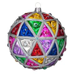 "Waterford 2014 Times Square ""The Gift of Imagination"" Masterpiece 6"" Ball Ornament"