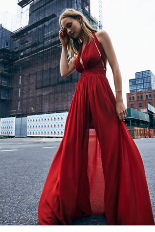Free People Athea Drape Maxi at Free People Clothing Boutique: