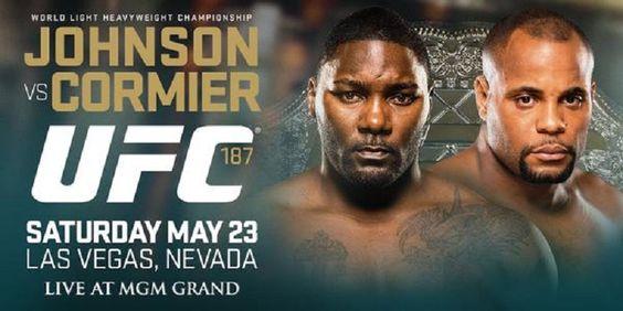 Jones é retirado do UFC 187, perde cinturão e é substituído por Cormier @canalCombate