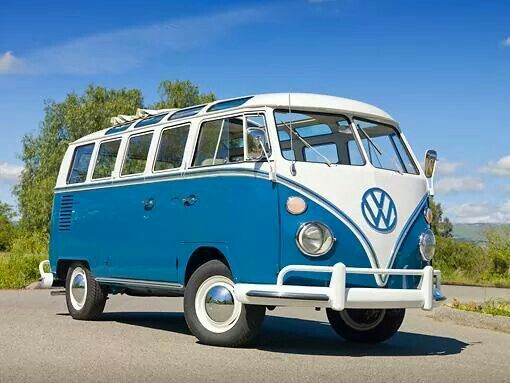 vw van — the volkswagen samba, in the united states also known as