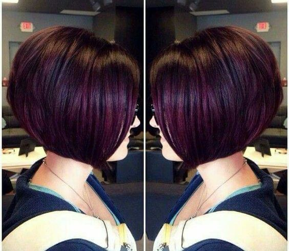 Short Hairstyle In New App For Women More 70 Best Short Hair Style Hairstyle Weddinghairstyle Blondehair Plum Hair Hair Styles Hair Highlights