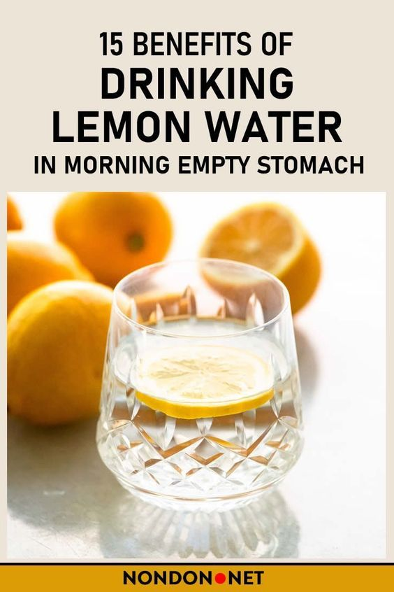 Lemon water benefits 34017