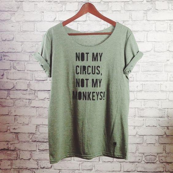 T-Shirts & Sweatshirts - gshirt (monkeys) - ein Designerstück von gegoART bei DaWanda