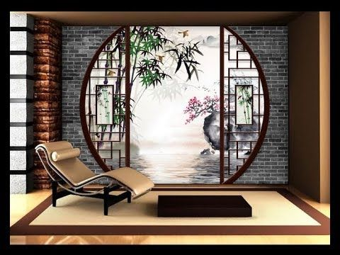 Decor Asiatique Chine Japan الديكور الأسيوي الصين واليابان Decor Interior Exterior Floor Wall Ceil Japanese Home Design Asian Home Decor Zen Interiors