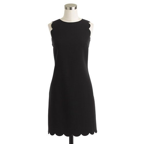 Perfect preppy little black dress... This is needed in every closet!! :-)