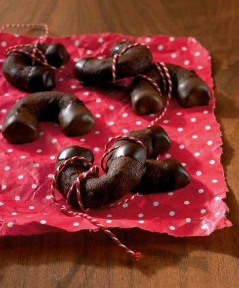 Schoko-Kirsch-Hörnchen - Rezepte: Gebäck mit Schokolade - 3 - [ESSEN & TRINKEN]