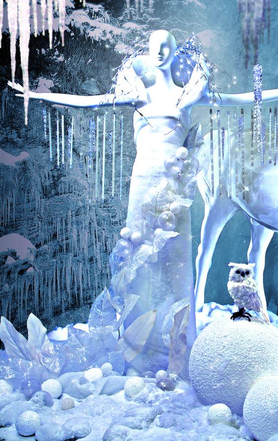 Visual Merchandising Trends Herbst Winter 2015 Ice Lady