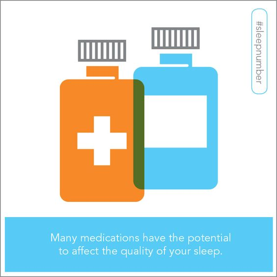 It's recommended that adults get seven to nine hours of sleep per night, but some medications may affect the quality of your sleep.