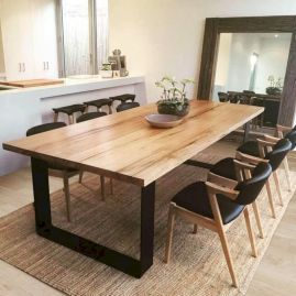 52 Lovely Dining Room Designs Ideas In Industrial Style Dining Room Table Dining Room Small Dining Room Table Decor