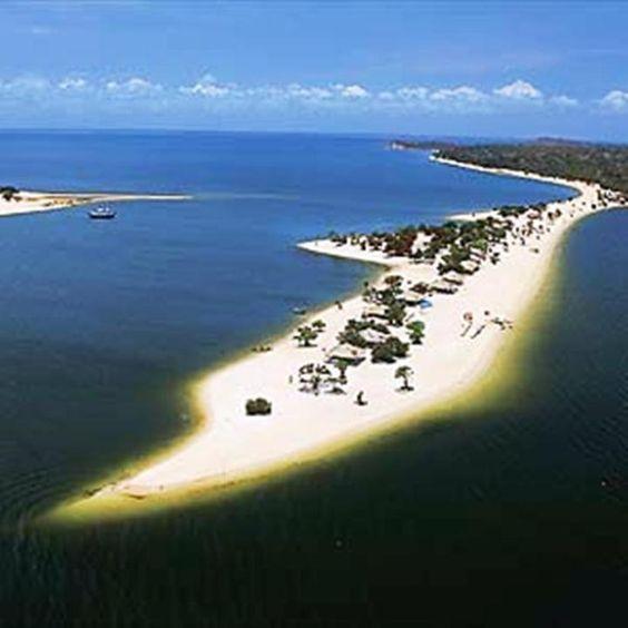 Alter do Chão - Pará - Brasil. Ótima praia para aproveitar o maravilhoso Rio Tapajós #Brazil