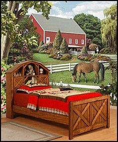 Girls Horse Bedroom   Horse Themed Bedrooms Horse Wall Murals Pony Theme  Bedroom   Belle .