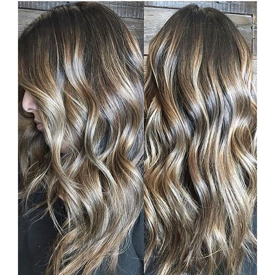 Woody Brunette Balayage. Color by @colorbymimi  #hair #hairenvy #hairstyles #haircolor #brunette #balayage #highlights #newandnow #inspiration #maneinterest