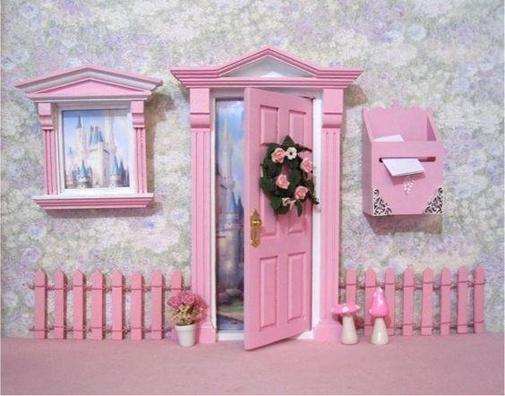 Door sets fairy doors and fairies on pinterest for Fairy front door