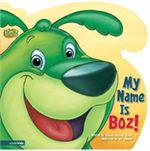 BOZ the Green Bear Next Door-Hardcover