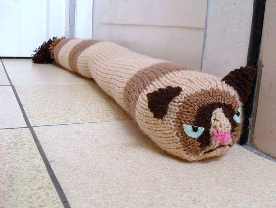 Pinterest the world s catalog of ideas - Cat door stoppers ...