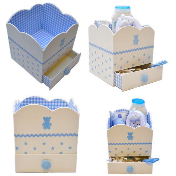 Nouveauté Cartonnage : Boite Nuage de Bébé (semi kit)