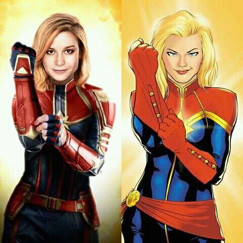 Captain Marvel 2019 Captain Marvel Marvel Costumes Captain Marvel Carol Danvers