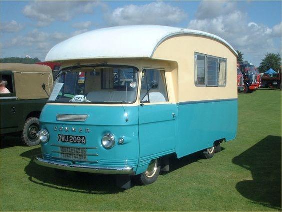 Commer van camper I'll take two, please.