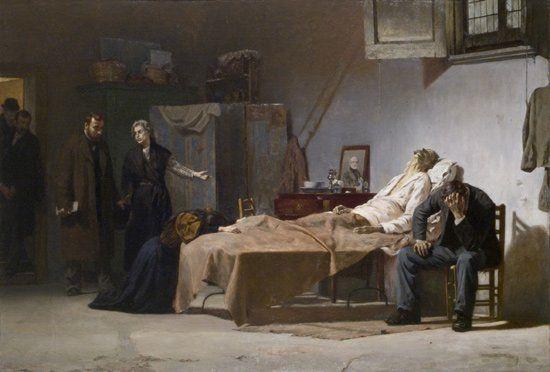 Teofilo Patini (1840-1906), Il sequestro. L'Italia ce l'ha fatta e ce la farà.