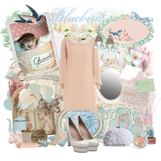 A songbird melody..., created by forget-me-not.polyvore.com