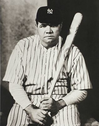 Babe Ruth, 1927, photographed by Nickolas Muray