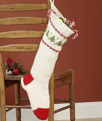 Knit Christmas Stocking pattern by Sugar Baby Knits Free ...