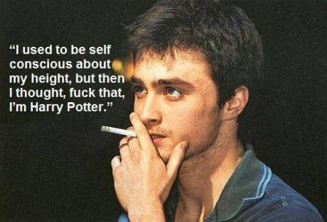 I'm Harry muhfuckin Potter