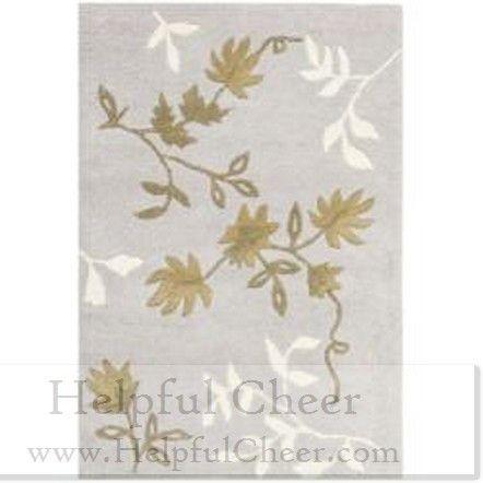 Safavieh Handmade Soho Twigs Light Grey New Zealand Wool Rug 2 x27 x 3 x27 Free shipping on order