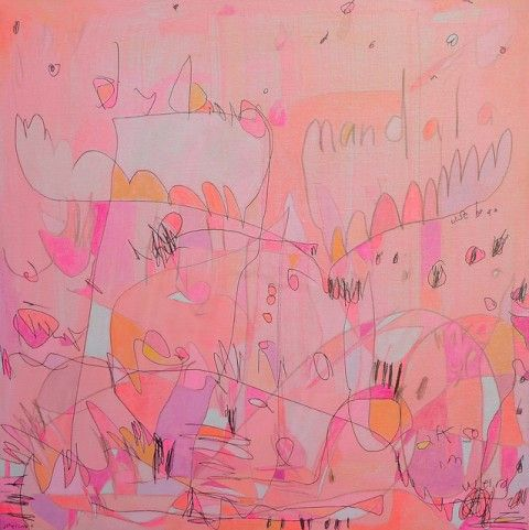 Paintings by Jennifer Mercede: Art Stuff, Paintings Inspiration, Art Paintings, Abstract Art, Referencias Arte Pintura, Artistic Inspiration, Neon Colors, Neon Paintings