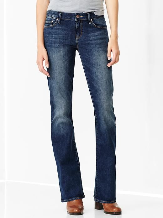 1969 perfect boot jeans - The new perfect boot gets a modern update. Jeans have a higher rise and slimmer fit throughout the leg.