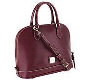 Dooney & Bourke Saffiano Leather Zip Zip Satchel - A257695