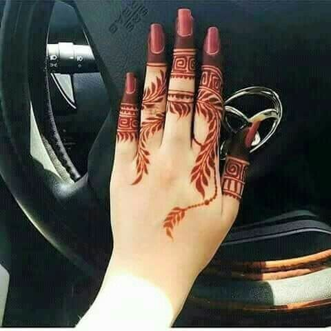 Pin By سید ثانیہ On Design Mehndi Designs For Fingers Henna