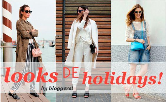 looks de vacaciones perfectos by bloggers