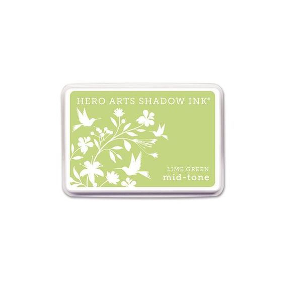 Hero Arts Shadow Ink Pad LIME GREEN