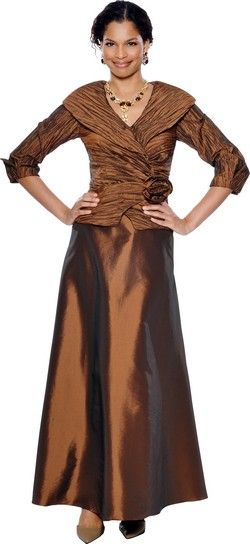 Annabelle Style 8295 Size 18 Plus Size Bronze Mother of the Bride ...