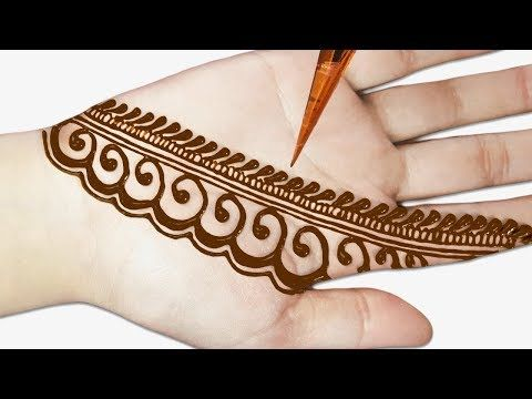 beautiful mehndi designs for front hand