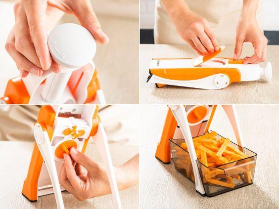 Promotie cu 75% Reducere de Pret la Feliatorul Brava Spring Slicer Delimano  in 2020 | Spring, Pret, Slicer