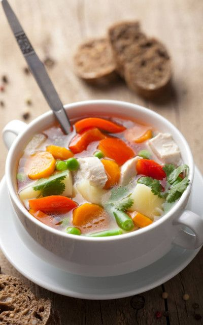 Hearty Chicken & Vegetable Soup