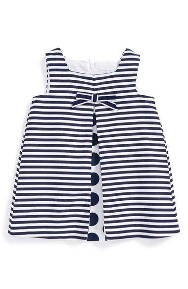 Luli & Me Stripe Sleeveless Dress (Baby Girls) available at #Nordstrom
